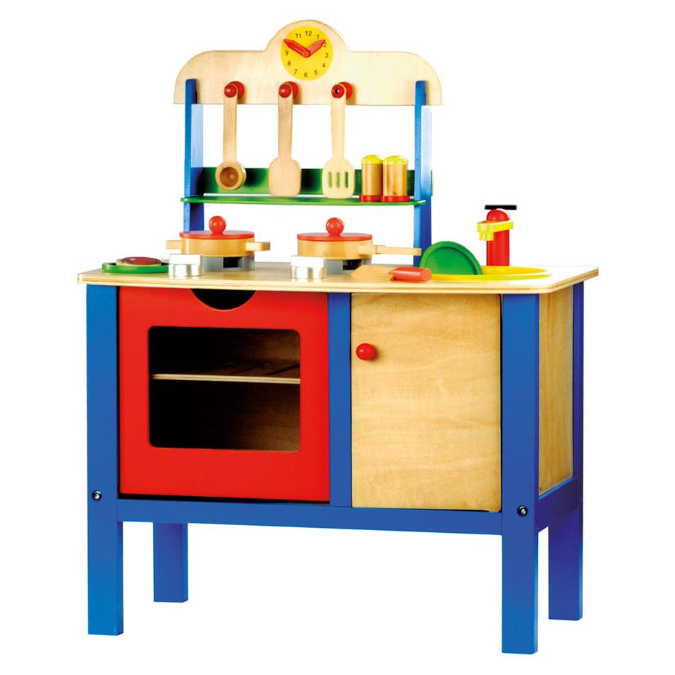 Bino Dětská kuchyňka s přísluš.