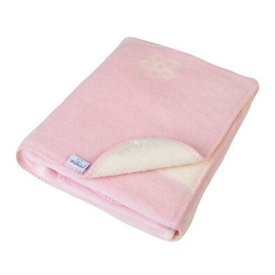 Dětská deka Teddy růžová, 75 x 100 cm