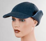 Pánská čepice, šedá