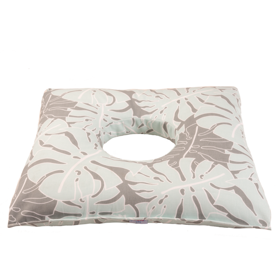 Monstera szülés utáni párna, 50 x 45 cm