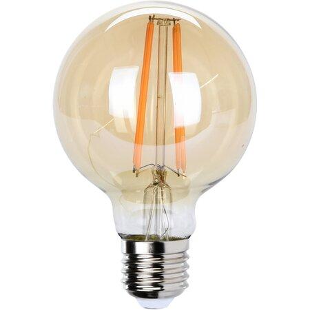 LED Żarówka z włóknem węglowym E27, 12 cm