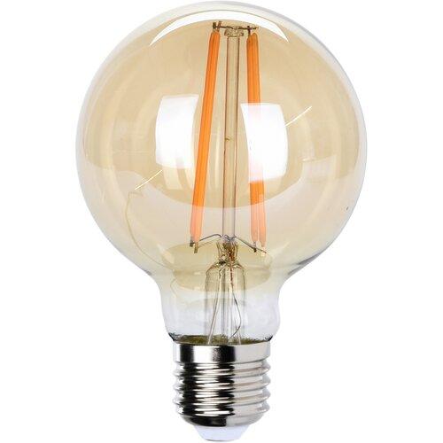 Bec LED cu fibră de carbon E27, 12 cm