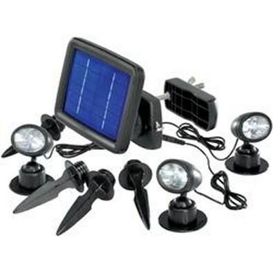 Conrad Renkforce solární LED svítidlo