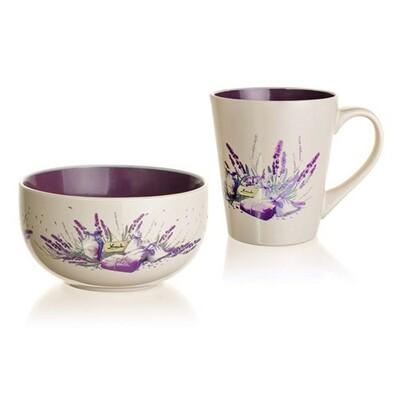 Banquet Lavender 2dílná snídaňová sada