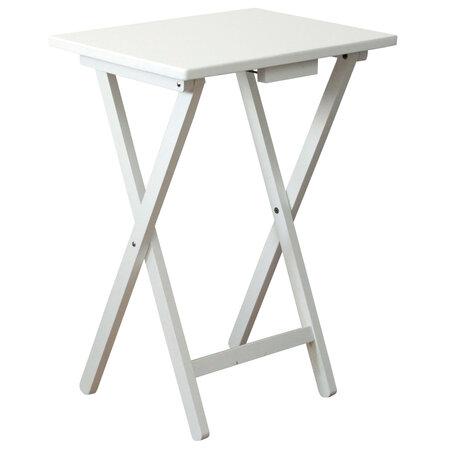 Fa összecsukható szék, fehér