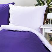 Saténové povlečení SATIN fialová, 140 x 200 cm, 70 x 90 cm