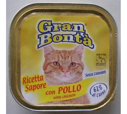 Paštika Gran Bonta s kuřecím masem pro kočky, 100g