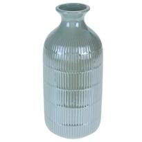 Vază Loarre verde, 10,5 x 22,5 cm