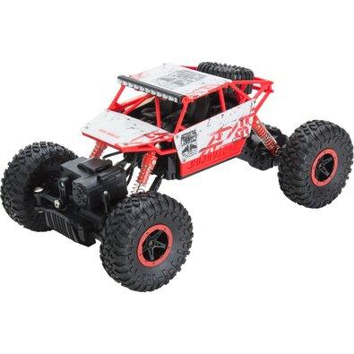Buddy Toys BRC 18.610 Auto na dálkové ovládání RC Rock Climber, červená