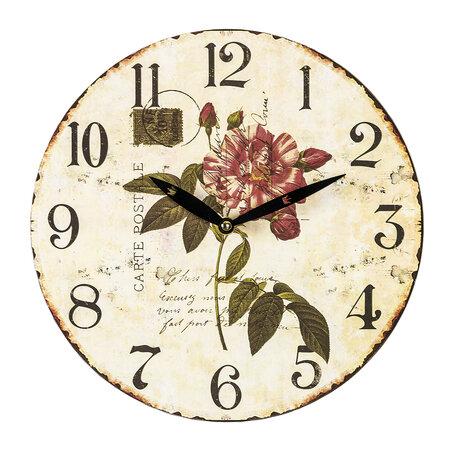 Zegar ścienny Carte Postale