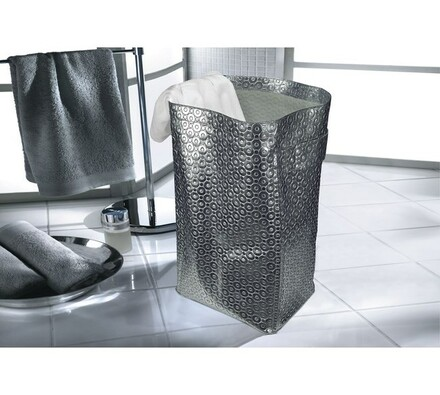 Koš na prádlo Vision, Kleine Wolke, stříbrná