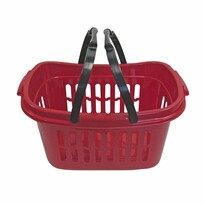 Plastový košík s držadlami, 48 x 28 x 24 cm