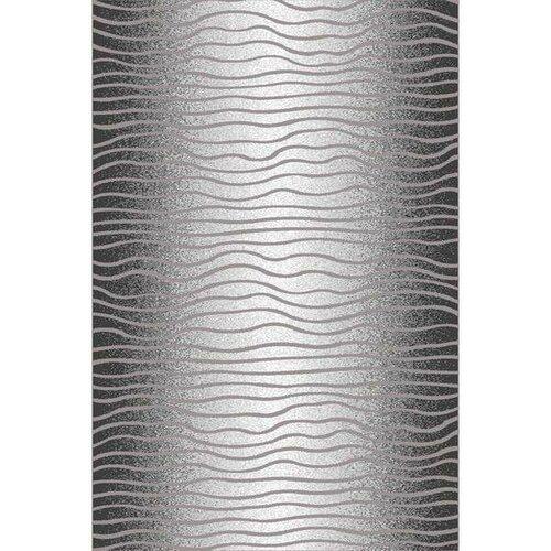 Habitat Kusový koberec Luna waves černá, 200 x 300 cm