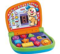 Dvojjazyčný svítící notebook Fisher Price, vícebarevná