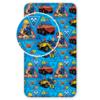 Dětské bavlněné prostěradlo Požárník Sam, 90 x 200 cm