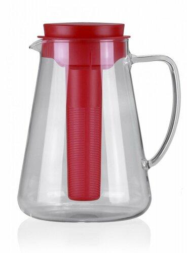 Tescoma TEO džbán s vyluhováním a chlazením, červená