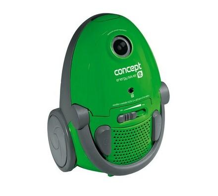 Vysavač sáčkový Concept VP 9161 ENERGY SAVER, zelená, 33 x 32,5 x 51,5 cm