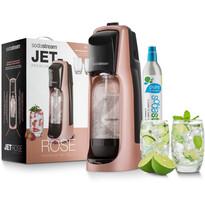SodaStream Jet Premium Výrobník perlivej vody, ružová