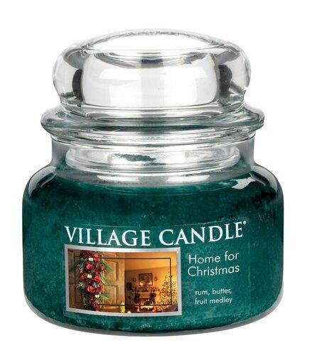 Village Candle Vonná svíčka ve skle, Kouzlo Vánoc - Home for Christmas, 269 g, 269 g