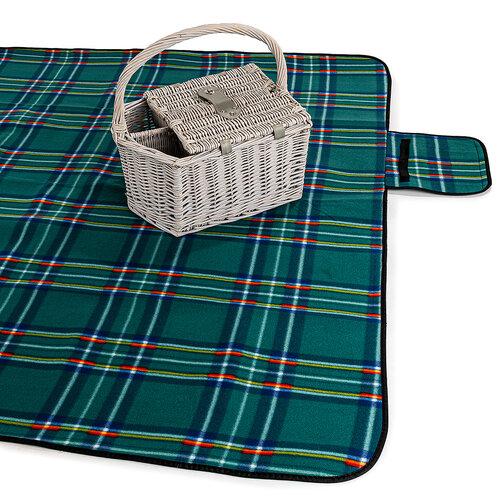 Pătură de picnic, verde, 150 x 200 cm