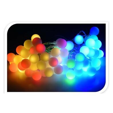 Instalație luminițe exterior 80 LED