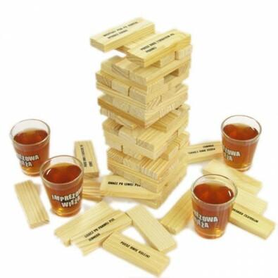 Alkoholová věž české balení