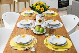 Banquet Sunny 18dílná jídelní sada