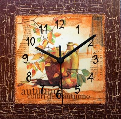 Nástěnné hodiny Zátiší do kuchyně