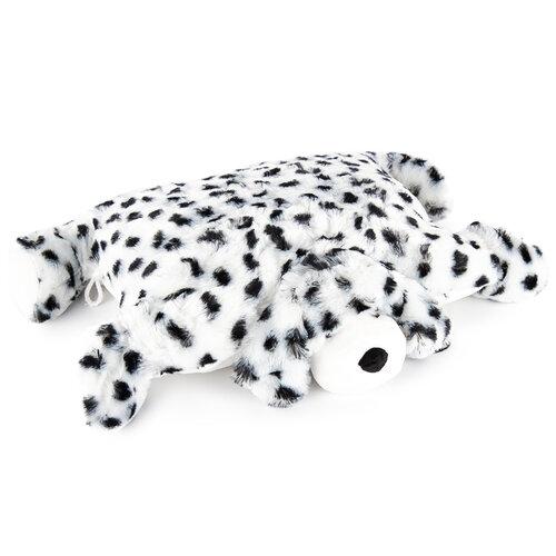 Plyšový dalmatin s knoflíkem, 35 x 45 cm