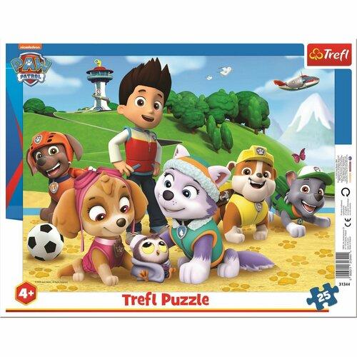 Puzzle Trefl Patrula cățelușilor, 25 piese