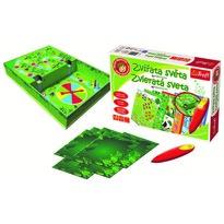 Malý objevitel Hrací set Zvířata světa s magickým perem