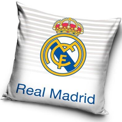 Polštářek Real Madrid White,  40 x 40 cm