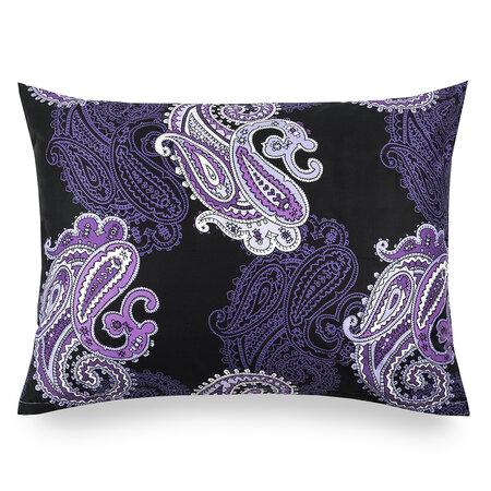 Casablanca Purple szatén párnahuzat, 50 x 70 cm