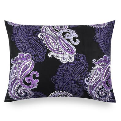 Povlak na polštářek satén Casablanca Purple, 50 x 70 cm
