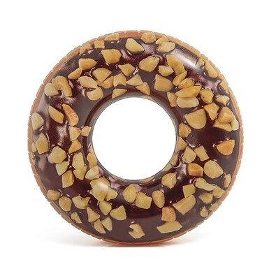 Intex Donut Felfújható úszógumi, barna