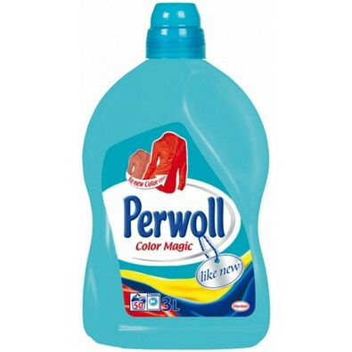 Perwoll Brilliant Color prací gel 3 l
