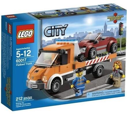 Lego City Auto s plochou korbou, vícebarevná