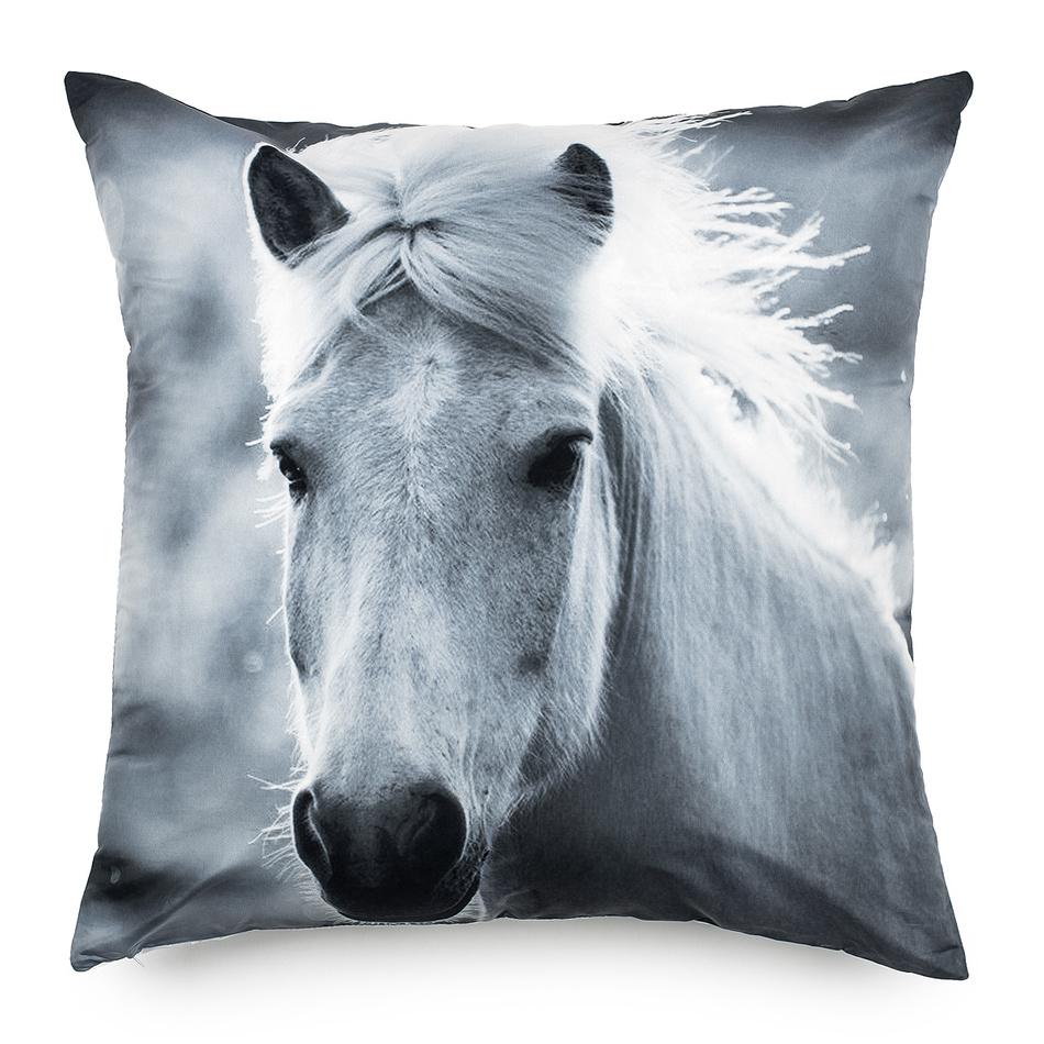 BO-MA Trading Obliečka na vankúšik Kôň, 70 x 70 cm, 70 x 70 cm