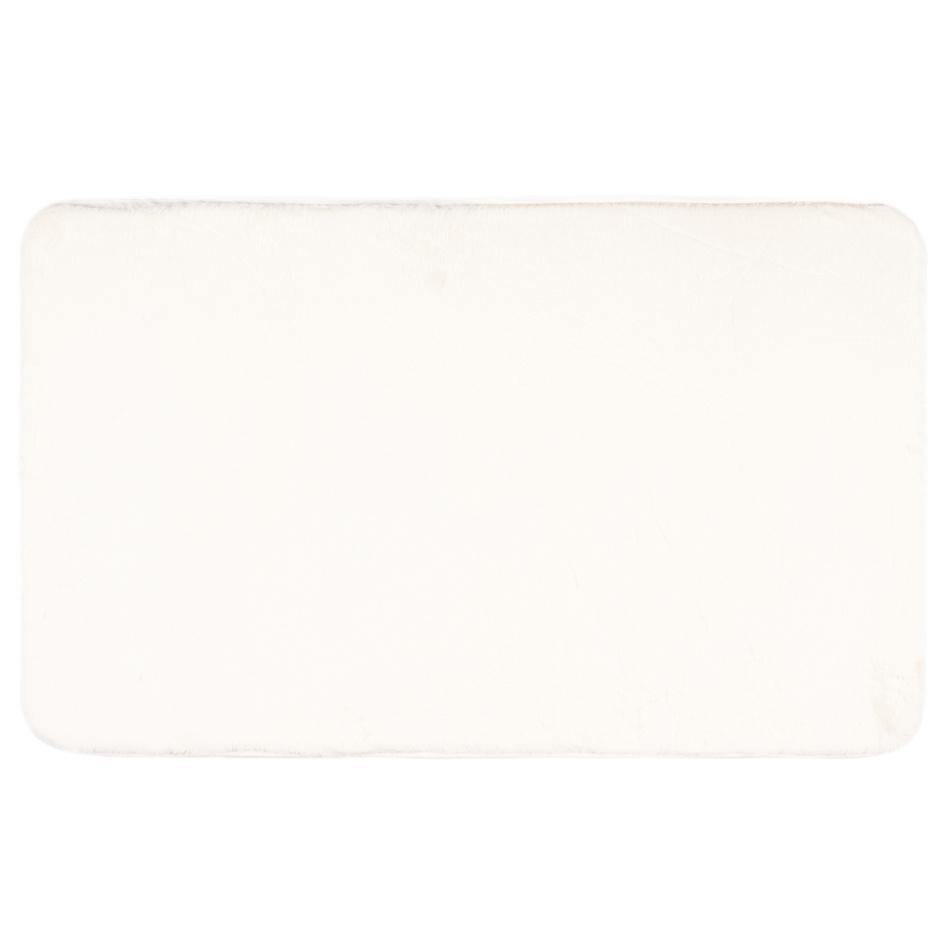 BO-MA Trading Koupelnová předložka Carol bílá, 50 x 80 cm