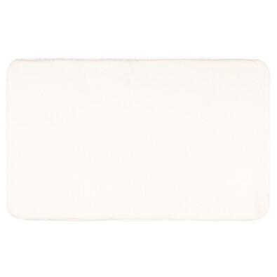 Kúpeľňová predložka Carol biela, 50 x 80 cm