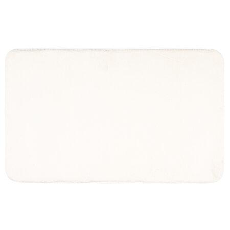 Covoraş de baie Carol, alb, 50 x 80 cm
