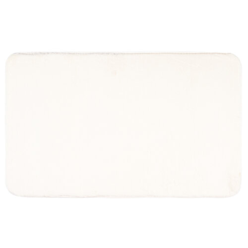 Carol fürdőszobaszőnyeg, fehér, 50 x 80 cm