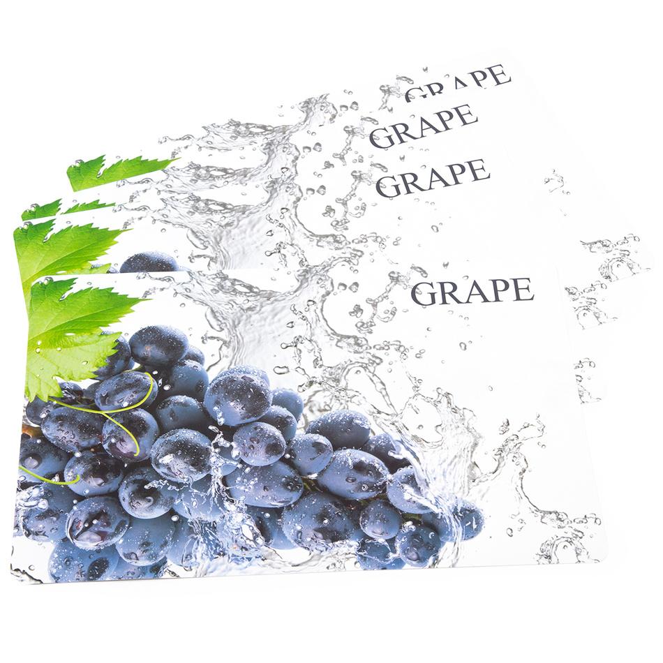 Koopman Prostírání Hroznové víno, 43 x 28 cm, sada 4 ks
