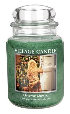 Village Candle Vonná svíčka Vánoční ráno - Christmas morning, 645 g