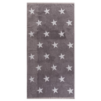 Osuška Stars sivá