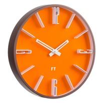 Future Time FT6010OR Numbers Designové nástěnné hodiny, pr. 30 cm
