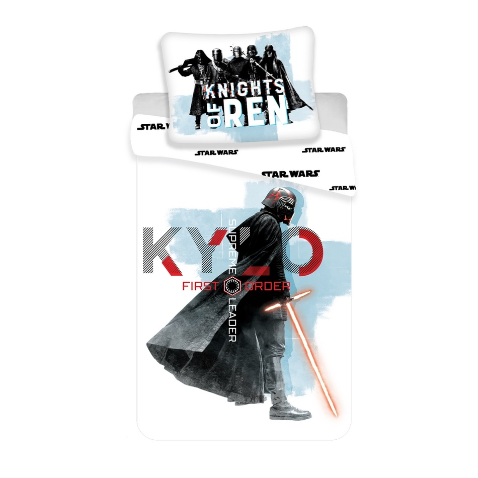 Jerry Fabrics Bavlněné povlečení Star Wars Knights 2019, 140 x 200 cm, 70 x 90 cm