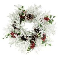 Karácsonyi koszorú Juntura, átmérő 40 cm