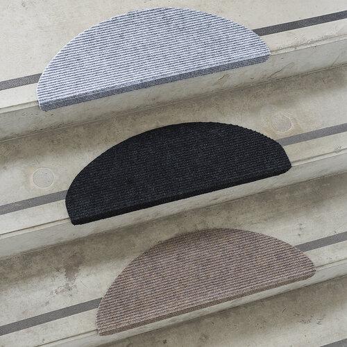 Nášlap na schody Quick step černá, 24 x 65 cm