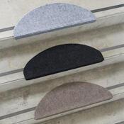 Nášlap na schody Quick step šedá, 24 x 65 cm